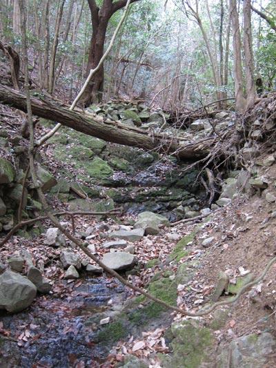 犬ヶ谷上流