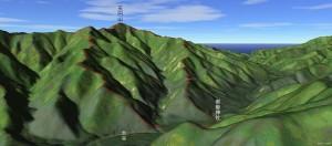 天円山から2k